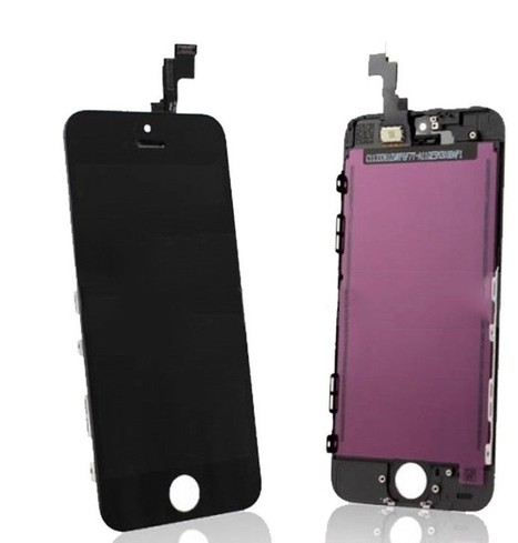Apple iPhone 5S LCD Screen and Digitizer Assembly with Frame - Black - iPhone 5C - iPhone Parts - Apple Parts | Software | Scoop.it