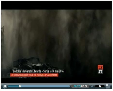 La nouvelle édition - Canal +   Godzilla - TV & Web Coverage   Scoop.it
