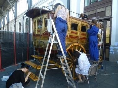 El Museo del Ferrocarril restaura un ómnibus de viajeros de 1861 | Revista de Arte - Logopress | Caminos de hierro | Scoop.it