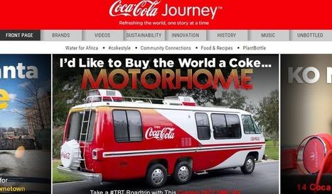 Brand Content : Coca-Cola, ou l'art de remplacer son site vitrine par un portail d'actualité - Off / Edit-Place | Création de contenu et innovation marketing | Scoop.it