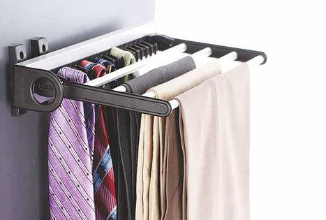 Aluminum-Tie-4-Trouser-Rack   Modular-Kitchen   Scoop.it