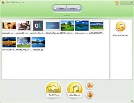 Presentaciones multimedia con UltraSlideshow Lite | Desarrollo de Apps, Softwares & Gadgets: | Scoop.it