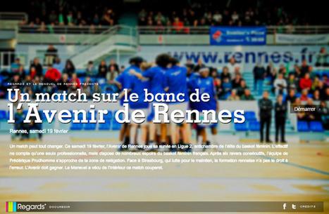 Un match sur le banc de l'Avenir de Rennes | Le mensuel de Rennes | L'actualité du webdocumentaire | Scoop.it