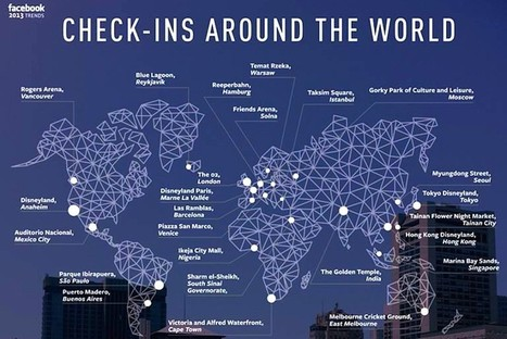 The 25 Most Popular Destinations Worldwide, According to Facebook | Paris parks | Scoop.it