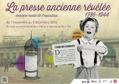 La presse ancienne révélée | LR livre et lecture dans les médias | Scoop.it