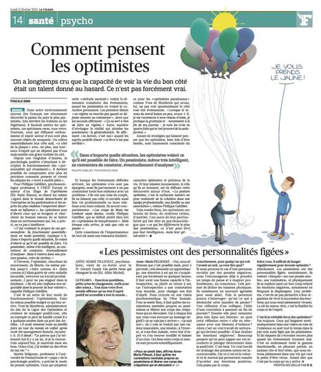 Comment pensent les optimistes... | coaching and consulting | Scoop.it