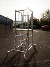 Stair scaffold tower | scaffold tower | Scoop.it