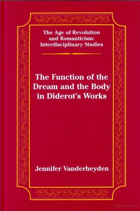 Dream and Body in Diderot - soul searching or just looking for fights   ENCCRE   Scoop.it