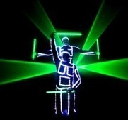 Hire Photon Glow Show | Warble Entertainment Agency | Wedding | Party | Corporate | University | UK Wide | Unusual Wedding Entertainment Ideas | Scoop.it
