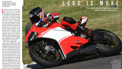 First Ride: Ducati 1199 Superleggera | Ductalk Ducati News | Scoop.it