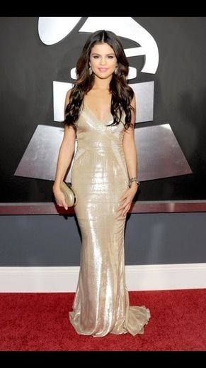 Best Of Pinterest Images: Selena Gomez Gold Prom Dress | Selena Gomez | Scoop.it