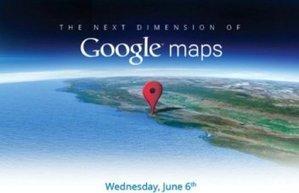 Google Maps 3D annoncé mercredi, avant Apple iOS Maps ! | Actu High Tech | Scoop.it