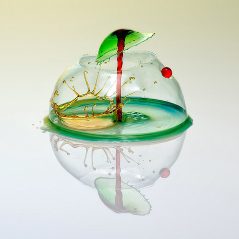 High-Speed Photography Turns Water Droplets Into Liquid Sculptures | The brain and illusions | Scoop.it
