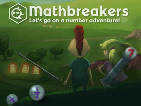 Mathbreakers! A 3-D Math Exploration Game | STEM | Scoop.it