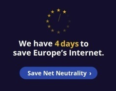 Four Days to Save the Open Internet in Europe: An Open Letter | Occupy Your Voice! Mulit-Media News and Net Neutrality Too | Scoop.it