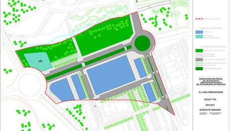 La urbanización del sur de Azpilagaña crea un paseo fluvial, un parque y nuevas calles | Ordenación del Territorio | Scoop.it
