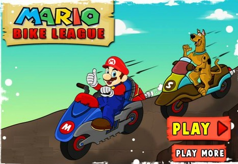 Mario Bike League - Play Your Best Mario Games | Mario Games | Sonic Games | Scoop.it