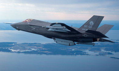 """US grounds F-35 fighter jets over cracked engine blade 