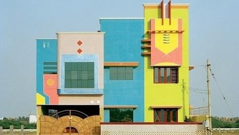 Les maisons colorées de Tiruvannamalai   I love it !   Scoop.it
