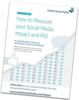 How To Accurately Measure Your Social Media Impact and ROI | Measuring the Impact of Social Media | Scoop.it