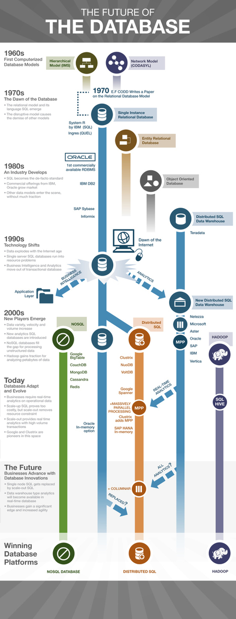 The Future of the Database (Infographic) | Big Data | Scoop.it