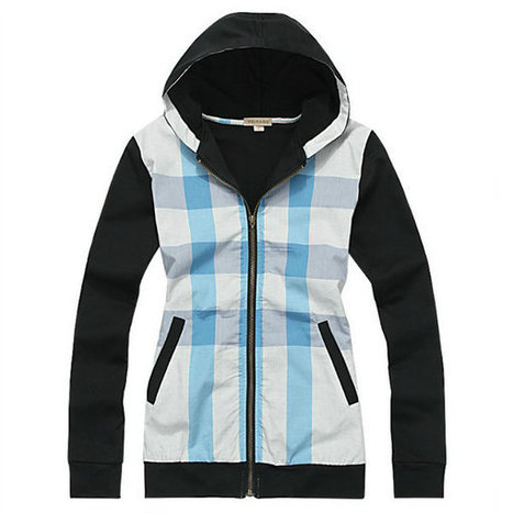 Burberry Hat Jacket Hoody Black Front Blue Check | Burberry Shirts mens and  womens | Scoop.it