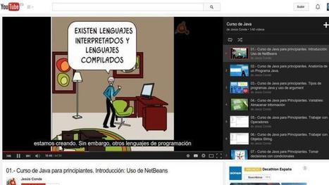 Un curso de Java para principiantes en 40 vídeos | E-Learning, M-Learning | Scoop.it