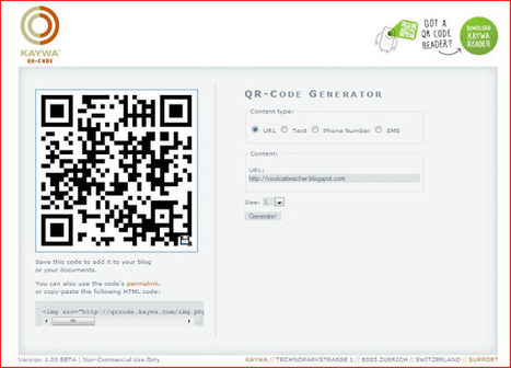 Cool Cat Teacher Blog: QR Code Classroom Implementation Guide | Design in Education | Scoop.it