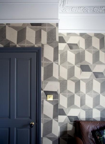 Le papier-peint géométrique toujours aussi tendance | PAPIER PEINT | Scoop.it