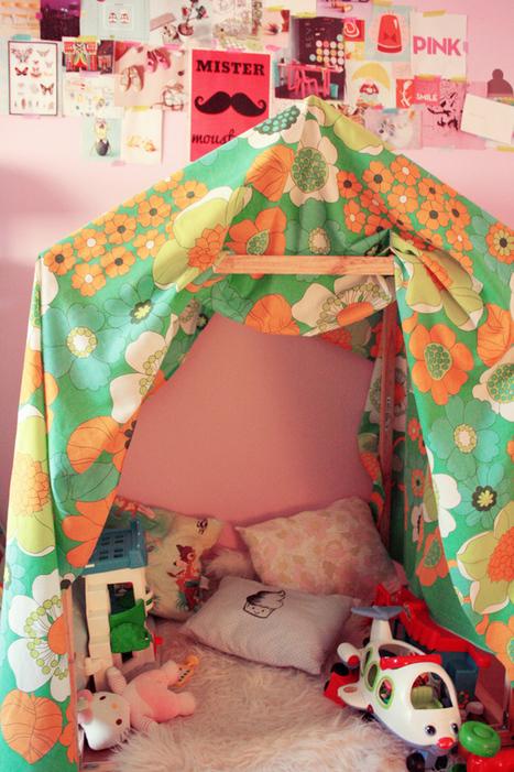 La cabane – Poulette Magique | VintageAddict | Scoop.it