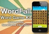 Wordfall Word Game Kit | Objective-C | CocoaTouch | Xcode | iPhone | ChupaMobile | social media | Scoop.it