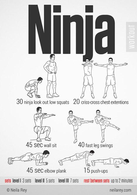 Ninja Workout | Exercising Effectively | Scoop.it