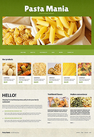 30 Food & Drink Responsive Joomla Templates | Resources | Scoop.it