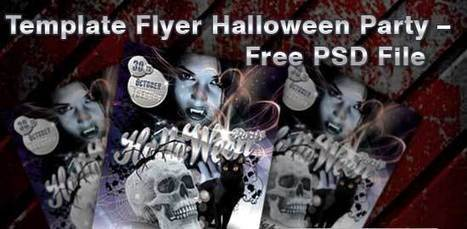 15+ Best Free Halloween Flyer PSD Templates - Designsave | Freebies and Resource | Scoop.it