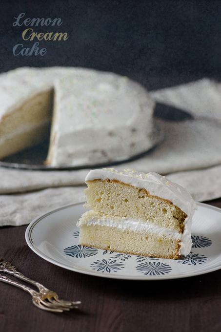 Vegan Lemon Cream Cake – seitan is my motor | My Vegan recipes | Scoop.it