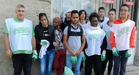 Les lycéens ont nettoyé la ville et ses alentours | Revue de presse des Lycées Raymond Savignac - Villefranche de Rouergue | Scoop.it