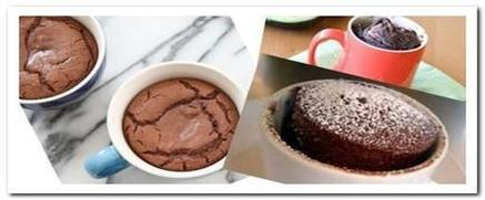Quick and easy 2 minutes microwave mug cake | foodyoo.com | Everything about cooking and recipes | Scoop.it