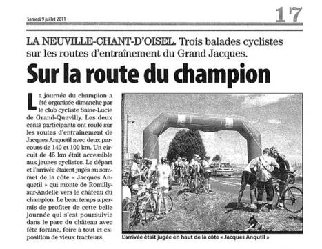 Journée du champion en 2011 à La Neuville Chant d'Oisel | MaisonNet | Scoop.it