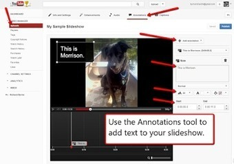 Free Technology for Teachers: How to Create Audio Slideshows in YouTube | Educational Video for Kids | Scoop.it