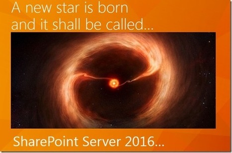 SharePoint Server 2016 to be revealed at Ignite! - CollabShow   SharePoint   Scoop.it