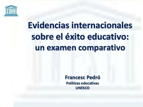 Evidencias internacionales sobre el éxito educativo | Blogs educativos generalistas | Scoop.it