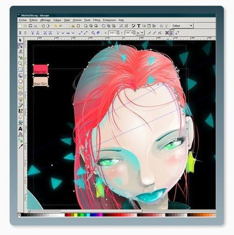 10 Programas de software libre para crear arte digital. | TICs para los de LETRAS | Scoop.it