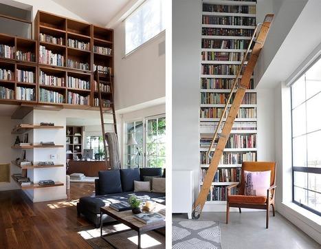 Bibliothèques : ranger ses livres dans la maison | Astuces pratiques Déco | Scoop.it
