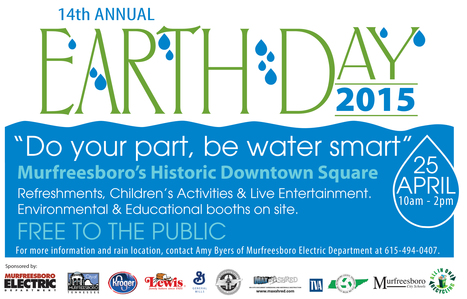 Earth Day is April 25th in Murfreesboro | Tennessee Libraries | Scoop.it