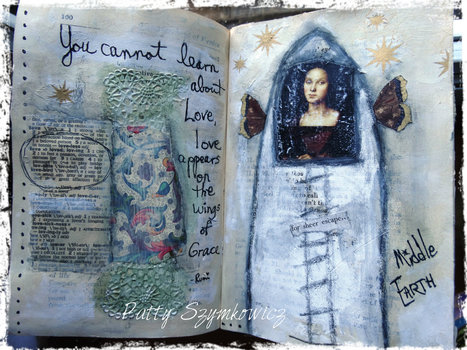 Beautiful Art Journal | Journaling Helps! | Scoop.it