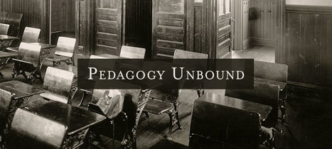 Pedagogy Unbound: How to Make Your Assignments Better | Web Resources for New Faculty | Scoop.it