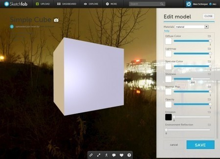 Improve your WebGL models on Sketchfab with the new material editor – by [as] | Rendons visibles l'architecture et les architectes | Scoop.it