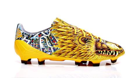 Adizéro f50 : la chaussure de foot haute couture de Yohji Yamamoto - Masculin.com | Actualite chaussure | Scoop.it