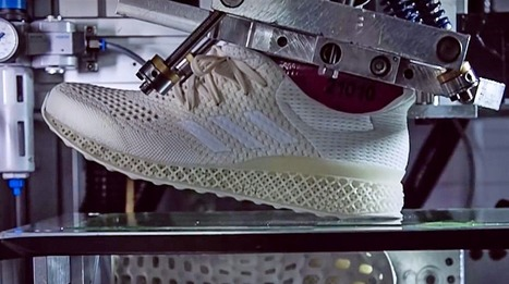 ADIDAS a créé la chaussure de sport parfaitement adaptée à VOTRE PIED grâce à l'impression 3D | FabLab - DIY - 3D printing- Maker | Scoop.it
