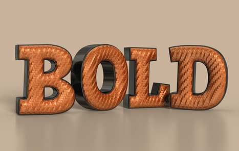 Create a 3D Bold Text Effect in Photoshop | The Official Photoshop Roadmap Journal | Scoop.it